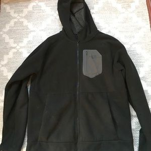 North face fluffy jacket